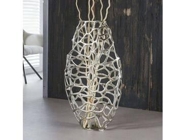 Vase aus Aluminium Deko