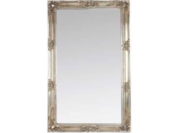 Barockspiegel in Silber Holz