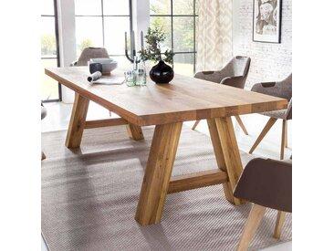 Esszimmertisch aus Massivholz Eiche geölt