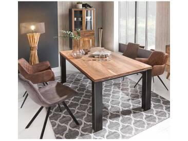 Esszimmergruppe im Loft Style Tisch 180 cm (5-teilig)