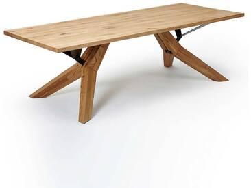 Esstisch Aus Wildeiche Massivholz Modern