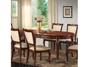 Ovaler Tisch im italienischen Design ausziehbar