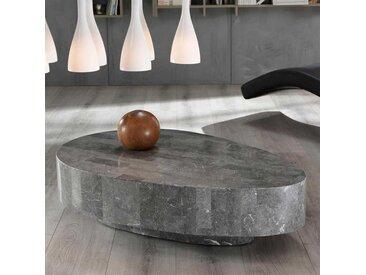 Stein Couchtisch in Grau Organisch