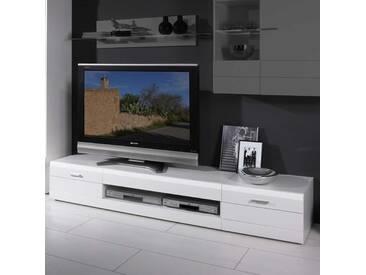 TV Board In Weiß 210cm Breit