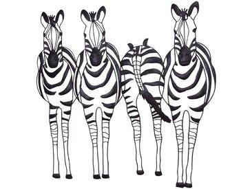 3D Deko für Wand Zebra Design