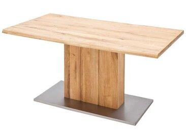 Esszimmertisch aus Balkeneiche Baumkante