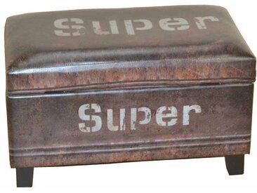 Sitzhocker mit Stauraum Industry Style