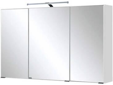 Bad Spiegelschrank mit 3D Effekt LED Beleuchtung