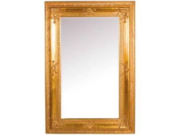 Barockspiegel in Gold massiv