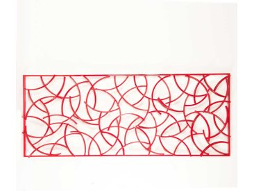 Deko in Rot für Wand