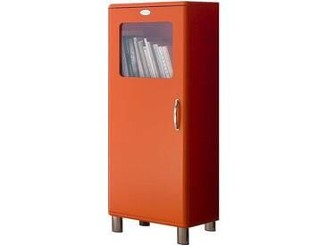 Design Vitrine in Orange Retro