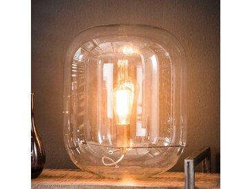 Tischleuchte aus Glas 45 cm hoch
