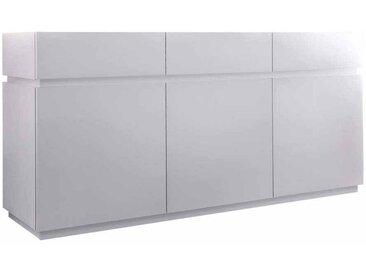 Wohnzimmer Sideboard in Weiß matt
