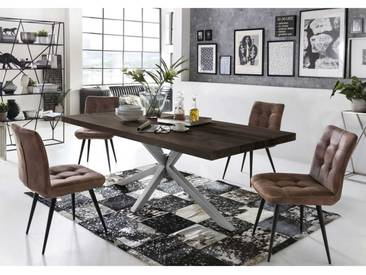Essgruppe Im Loft Style 180 Cm Tisch (5 Teilig)