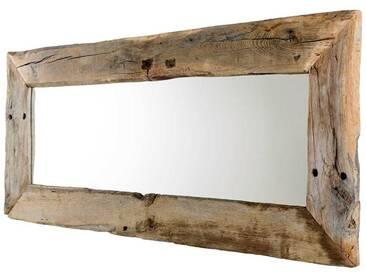 Wandspiegel 80x60 massiv Holz Eiche geölt Garderoben Spiegel Bad Flurspiegel