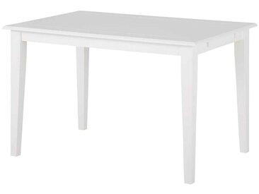 Küchentisch 75 cm hoch Weiß