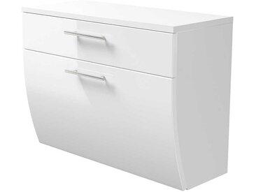 Badezimmer Unterschrank mit Schublade und Klappe hängend