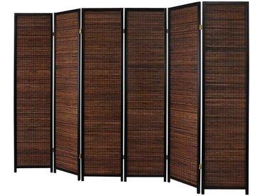 Trennwand mit Bambus-Füllung 245 cm breit