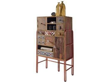 Apothekerkommode mit Türen und Schubladen handgearbeitet