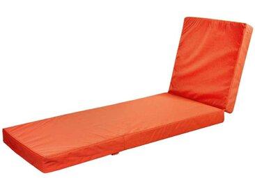 Liegenauflage in Orange Wetterfest