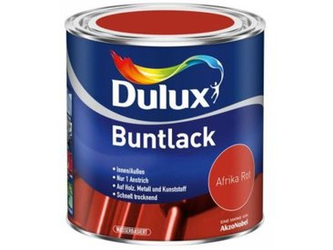 Dulux Buntlack Afrika Rot seidenmatt Gebindegröße: 500ml