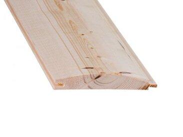 Blockhaus-Profilbretter 19,5x121mm aus nordischer Fichte Länge: 360cm