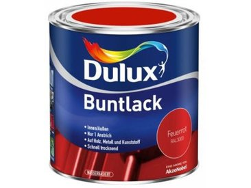 Dulux Buntlack Feuerrot seidenmatt Gebindegröße: 500ml