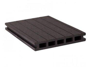 GroJaSolid Terrassendiele Entrada 22x140mm, schwarz Länge: 400cm