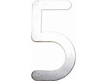 Heibi Hausnummer Max, weiß-gold patiniert Ausführung: Nummer 3