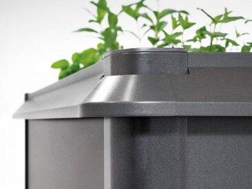 Biohort Schneckenschutz für HochBeet 2x0,5 Ausführung: dunkelgrau-metallic