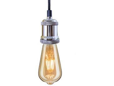 INDUSTRIAL CHIC-CHROM-EDISON LED BIRNE-PENDELLEUCHTE bf19 - BF-19 LED