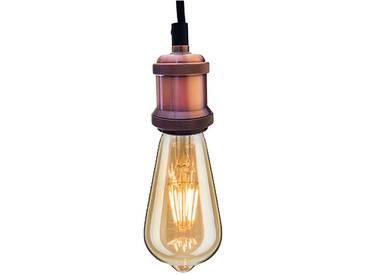 INDUSTRIAL CHIC-ROTGOLD-EDISON LED BIRNE-PENDELLEUCHTE bf19 LED - BF-19 LED