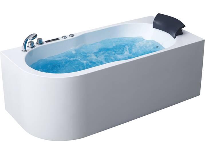Badewannen und Whirlpools - AWT Whirlpool GE107E 180x130 links  - Onlineshop Moebel.de