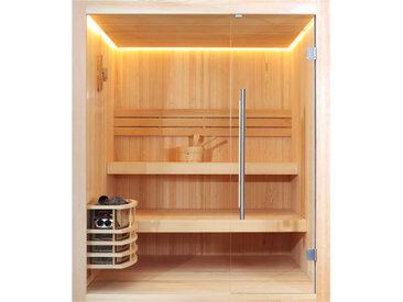 AWT Sauna E1802 Pinienholz 180x180 ohne Saunaofen