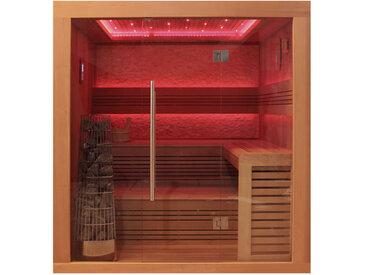 AWT Sauna E1241B rote Zeder 200x170 9kW Kivi