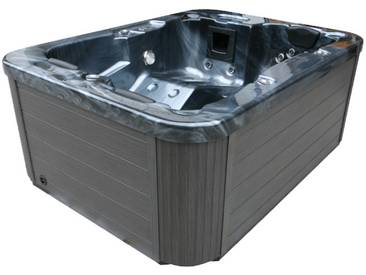 EO-SPA Whirlpool Aussenwhirlpool IN-100 PearlShadow 210x160 grau