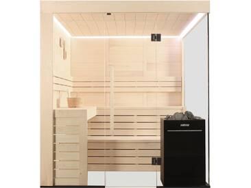 Sauna AWT E1205B Pappelholz 207x198 9kW Vitra