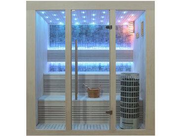 AWT Sauna E1215A Pappelholz 200x150 9kW Cilindro