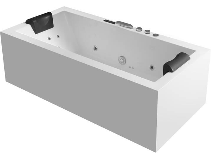 Badewannen und Whirlpools - Whirlpool AWT GE109 2TSL 170x80 rechts  - Onlineshop Moebel.de