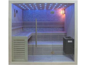 AWT Sauna B1102B Pappelholz 200x170 9kW EOS BiO-Thermat