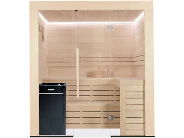 Sauna AWT E1202C Pappelholz 202x168 9kW Vitra