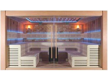 Sauna AWT B1400B rote Zeder 350x300 15.8kW Vitra Combi
