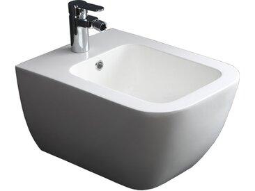 Hänge-Bidet StoneArt TFS-106P weiß 52x37cm matt