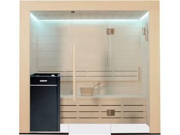Sauna AWT E1203A Pappelholz 202x133 9kW Vitra