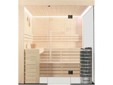 AWT Sauna E1205B Pappelholz 207x198 9kW Cilindro