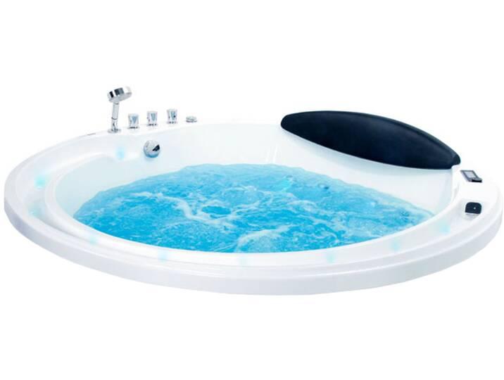 Badewannen und Whirlpools - Whirlpool EAGO AM210S 180x180  - Onlineshop Moebel.de