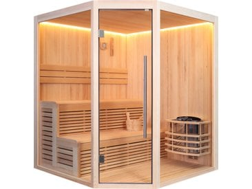 AWT Sauna E1801A Pinienholz 180x180 8kW Vega