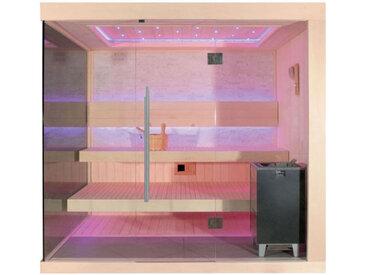 AWT Sauna E1245A Pappelholz 220x180 9kW EOS Cubo