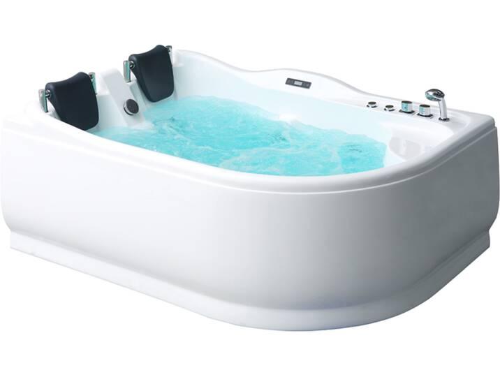 Badewannen und Whirlpools - Whirlpool AWT GE101E 180x120 rechts  - Onlineshop Moebel.de