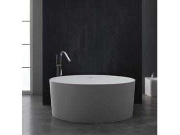 Badewanne freistehend StoneArt BS-507 weiß 150x150 matt